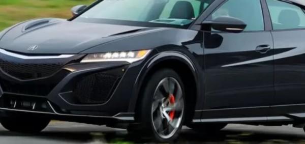 Honda NSX, суперкросс