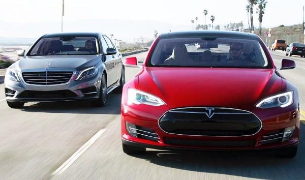 Tesla, Mercedes