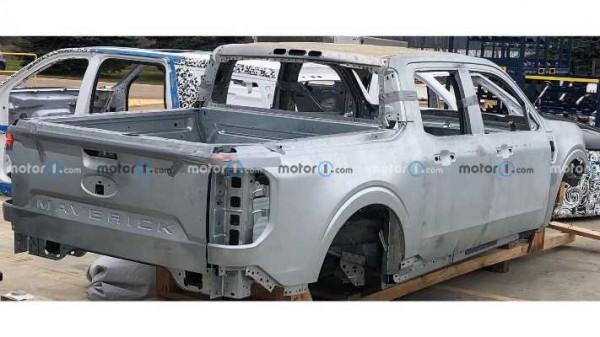 Ford Maverick 2022, кузов, фото