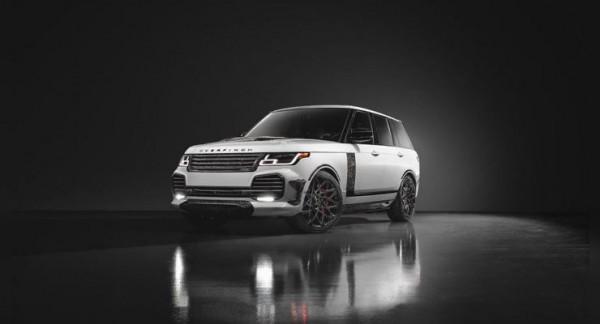 Range Rover Velocity Final Edition, ателье Overfinch