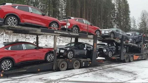 Ford Mustang Mach-E, электромобили