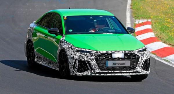 Audi RS3, новый