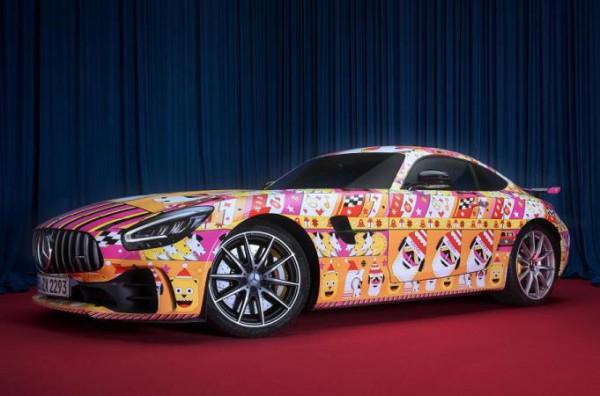 Mercedes-AMG GT R, версия, рождественская