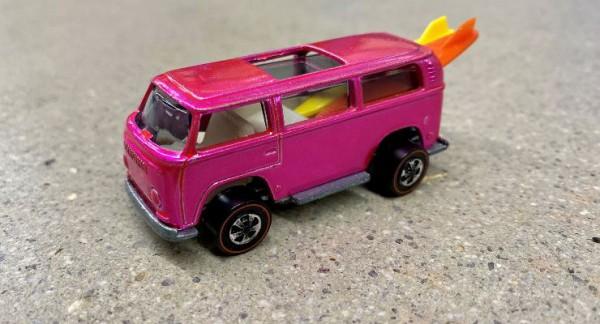 VW Beach Bomb Hot Wheels, игрушечный