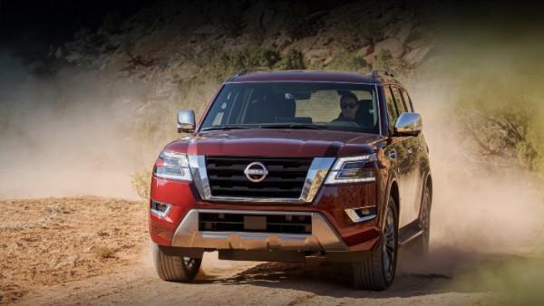 Nissan Armada, обновленный внедорожник