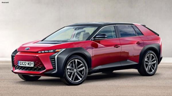 Toyota BZ, новый кросс