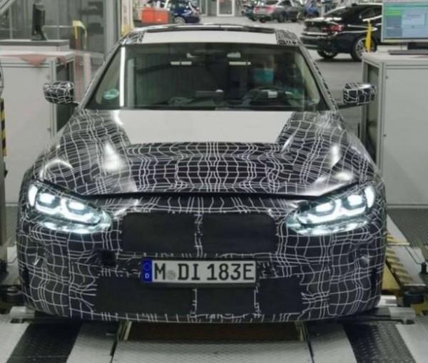 BMW I4, новый седан