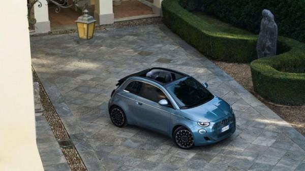 Fiat 500, батарейный
