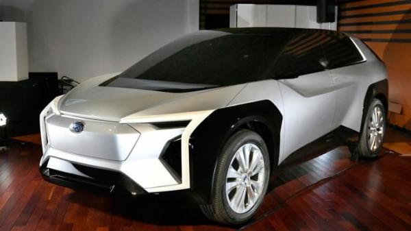 Subaru, первый электрокар