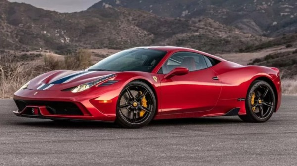 Ferrari 458 Speciale, суперкар, броневик