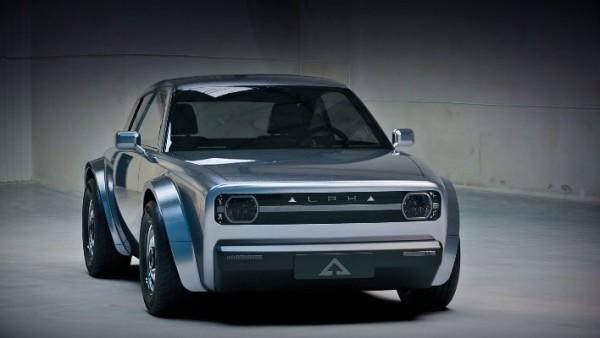 Alpha Ace, электрическое купе
