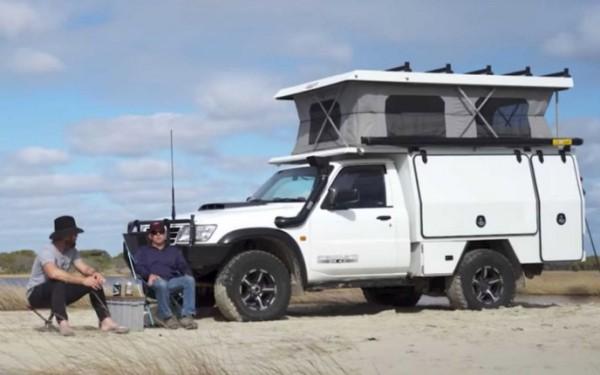 Nissan Patrol, кемпер, автодом