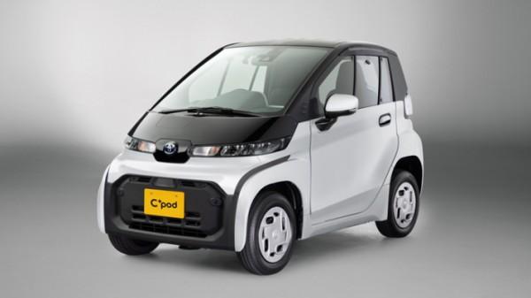 Toyota C + pod, новый миниатюрный электрокар