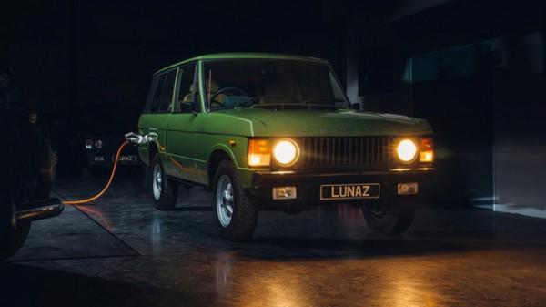 Range Rover, электрокар, тюнинг Lunaz Design