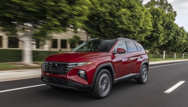 Hyundai Tucson, кросс 2022 года