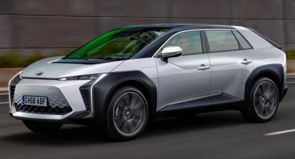 Toyota, кроссовер, электрический, среднеразмерный