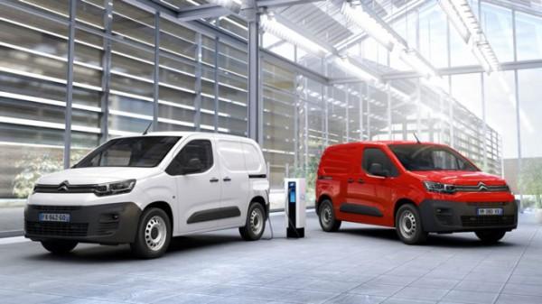 Citroen e-Berlingo, фургон, электрический