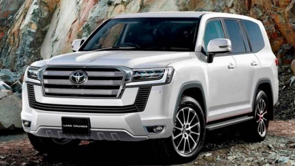 Toyota Land Cruiser, новый