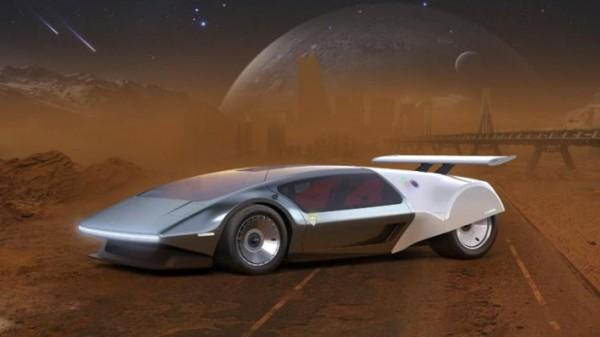 SCG 009 Concept, футуристичный водородный суперкар, рендера