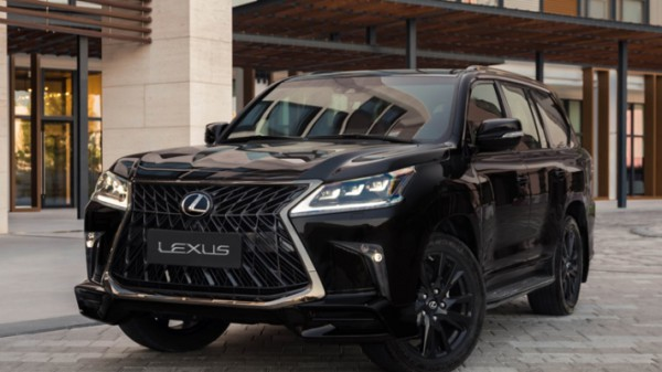 Lexus, рамный внедорожник
