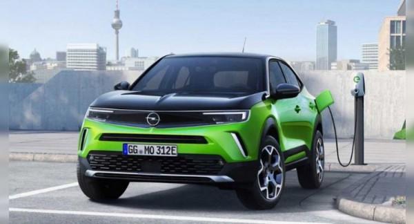 Opel, электрокар