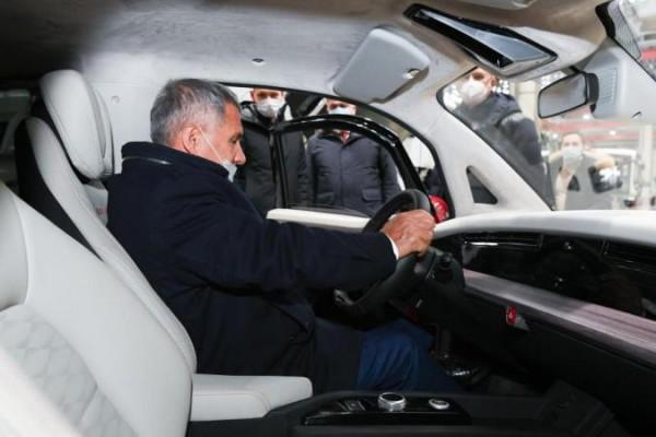 Кама-1, электромобиль, Рустам Минниханов