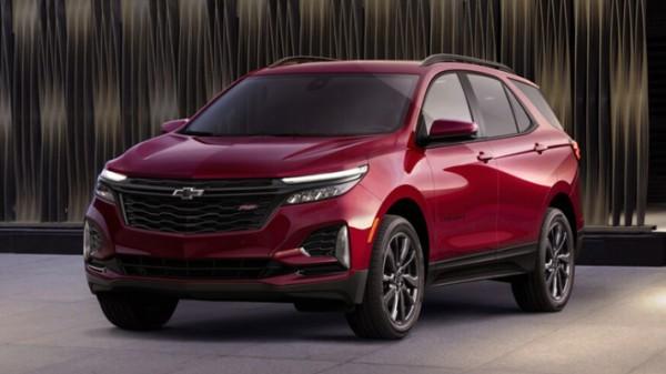 Chevrolet Equinox 2022 года