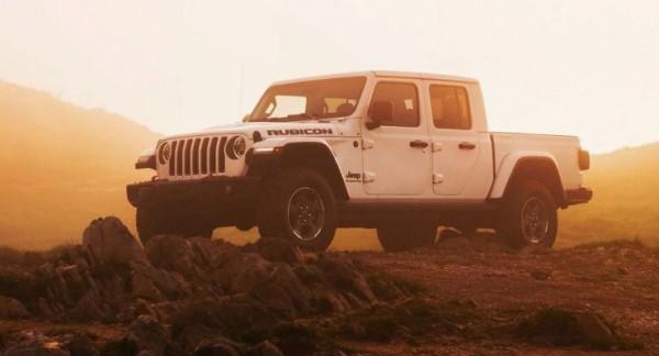 Jeep Gladiator, пикап