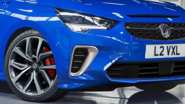 Opel Corsa VXR, электрический