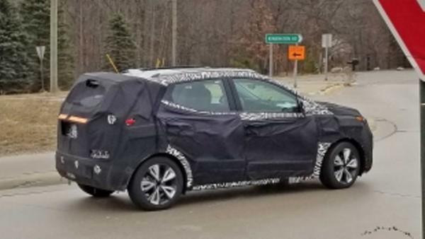 Chevrolet Bolt EUV 2022 года
