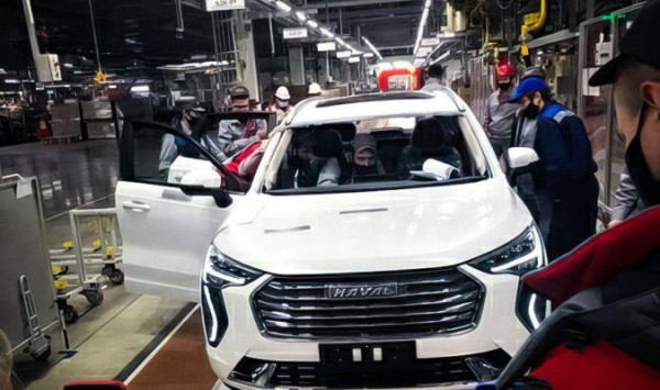 Haval First Love, конвейер