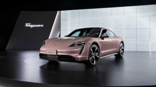 Porsche Taycan, электрокар