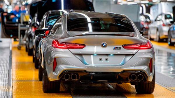 BMW, производство