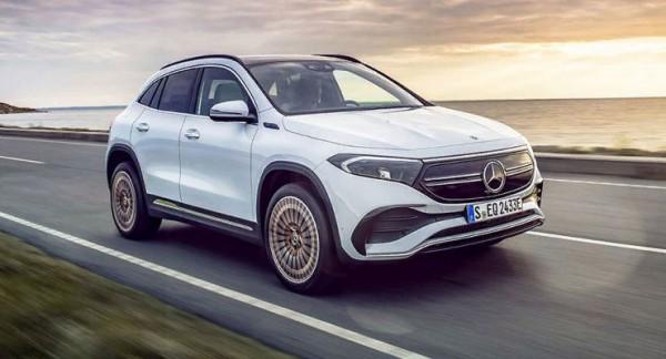 Mercedes-Benz EQA 2021 года,