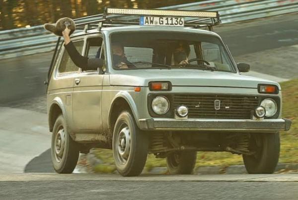 Lada 4x4, Нюрбургринг