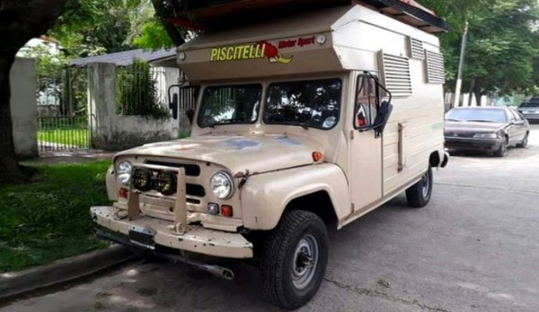 автодом, кемпер, на базе УАЗ-469