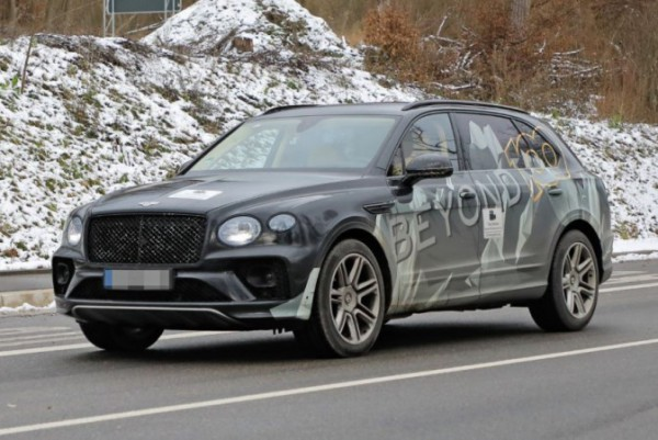 Bentley Bentayga, удлиненная