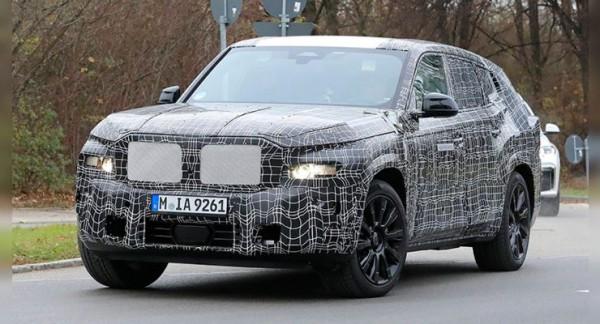 BMW X8, новый внедорожник