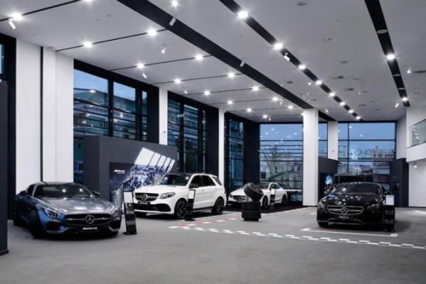 Mercedes-Benz, авто, продажи