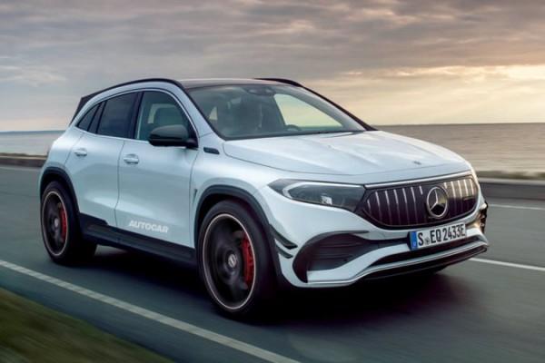 Mercedes-Benz, электрические версии, AMG