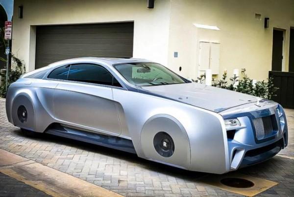 Rolls-Royce Wraith Джастина Бибера