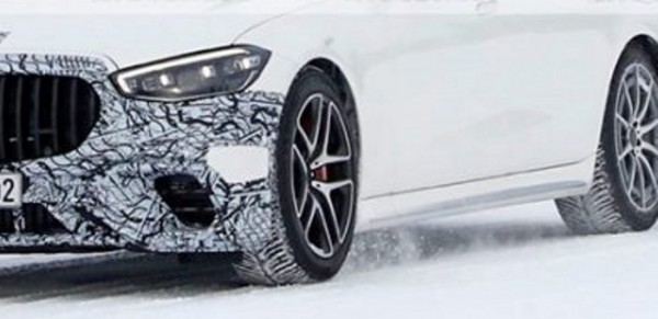 Mercedes-AMG S63e, гибрид, тест