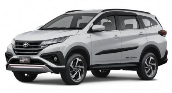 Toyota Rush, кроссвэн