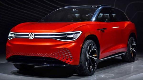 Volkswagen ID.6 X, электрический кроссовер