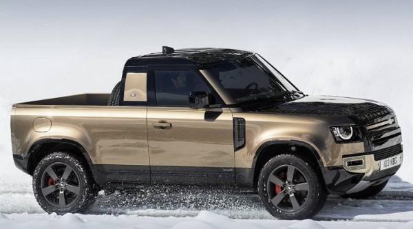 Land Rover Defender, в кузове пикап