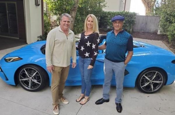 Chevrolet Corvette, Сильвестр Сталлоне