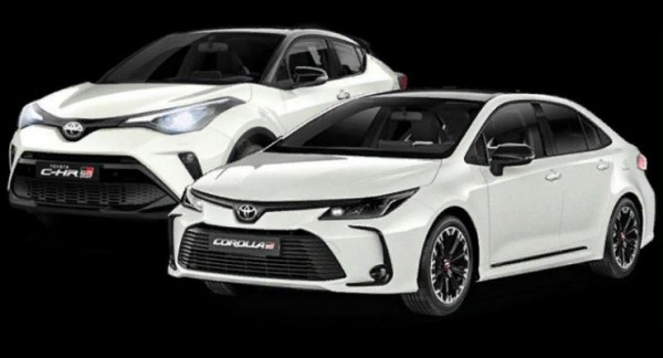 Toyota Corolla и C-HR, версии GR Sport