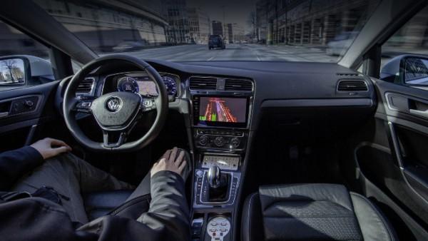 Volkswagen и Microsoft, беспилотные авто