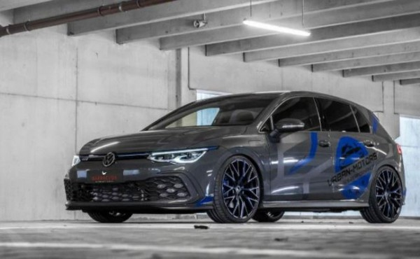 Volkswagen Golf GTE, заниженная подвеска
