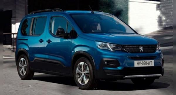 Peugeot e-Rifter, электрический минивэн